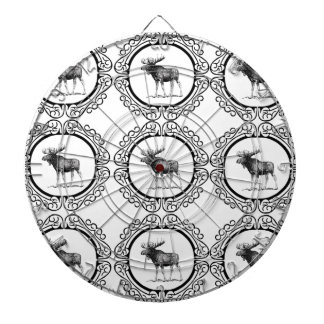 ring herd of moose dartboard