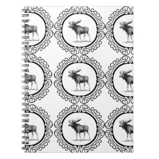 ring herd of moose notebook