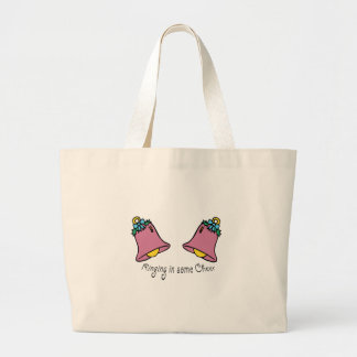 Ring In Cheer Canvas Bags
