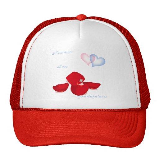 Ring in Petals Trucker Hats