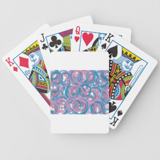 Ring in the day bicycle playing cards