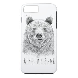 Ring my bear (bw) iPhone 8 plus/7 plus case