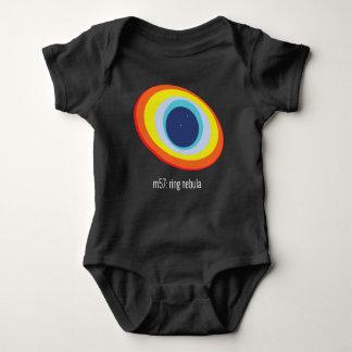 Ring Nebula Baby Bodysuit