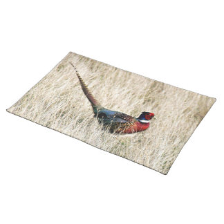 Ring Neck Pheasant in Meadow Placemat