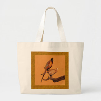 Ring-neck Pheasant Jumbo Tote Bag