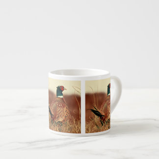 Ring-Necked Pheasant Painting Espresso Cup