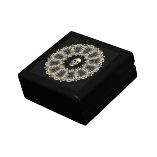 Ring of Bones with Skull Gift Box