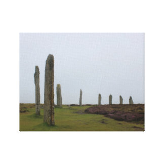 Ring of Brodgar (Orkney Island) Canvas Print