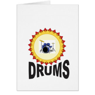 ring of drumset card