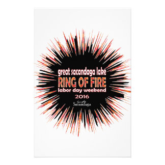 Ring Of Fire 2016 Stationery Paper