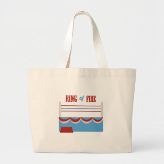 Ring Of Fire Canvas Bags