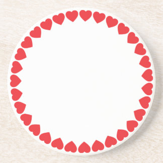 Ring of Hearts Coasters
