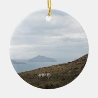 Ring of Kerry, Ireland Ceramic Ornament