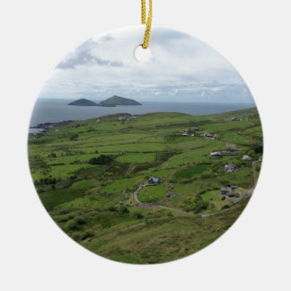 Ring Of Kerry Ireland Irish Ocean View Ceramic Ornament