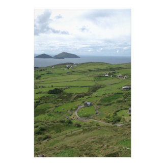 Ring Of Kerry Ireland Irish Ocean View Stationery