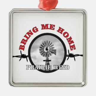 ring of prairie wind metal ornament