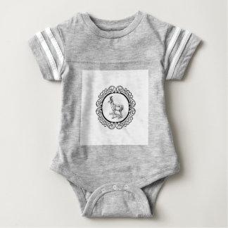 ring of pronghorn baby bodysuit