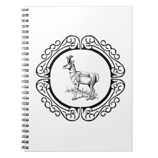 ring of pronghorn notebook