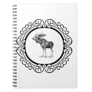 ring of the bull moose notebook