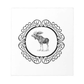 ring of the bull moose notepad