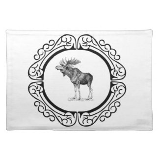 ring of the bull moose placemat