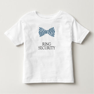 Ring Security Shirt With Bow Tie For Ring Bearer