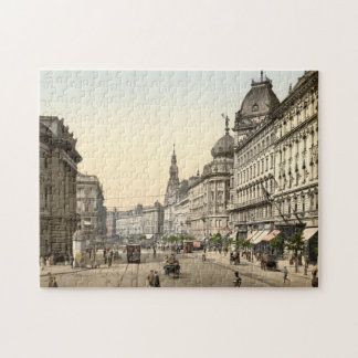 Ring Street, Budapest, Hungary Jigsaw Puzzle