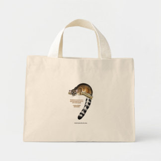 Ring Tailed Cat Tote Bag