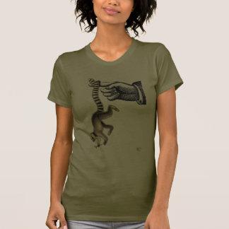 Ring Tailed Lemur on Finger 2 Shirts