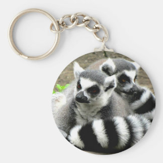 Ring-Tailed Lemurs Key Ring
