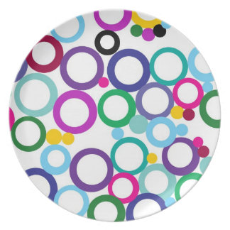 Ring Toss Party Plates