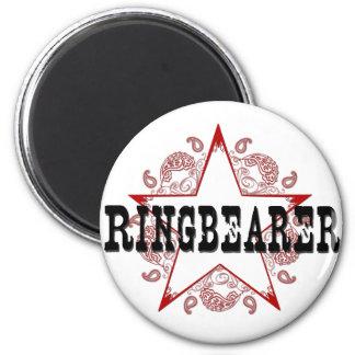 Ringbearer Western Red Magnet