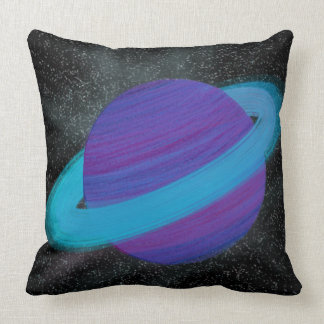 Ringed Planet Cushion