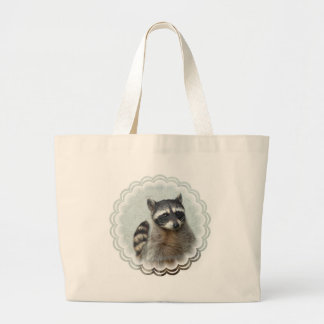 Ringed Raccoon  Canvas Bag