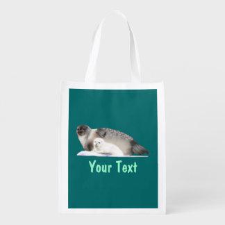 Ringed Seal Reusable Grocery Bag