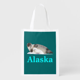 Ringed Seal Reusable Grocery Bags