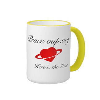 Ringer Coffee Mug - 15oz. - (Yellow)