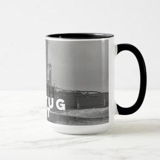 Ringer Coffee Mugs Two-tone Tough As A Tugboat