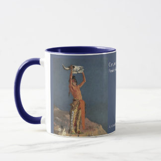 Ringer Mug Frederic Remington's Conjuring Back the