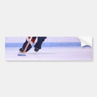 Ringette Bumper Sticker - Skating With Ring
