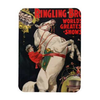 Ringling Brothers Horses Flexible Magnets