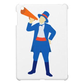 Ringmaster Shouting Bullhorn Retro Case For The iPad Mini