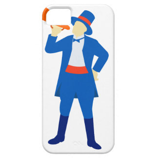 Ringmaster Shouting Bullhorn Retro Case For The iPhone 5