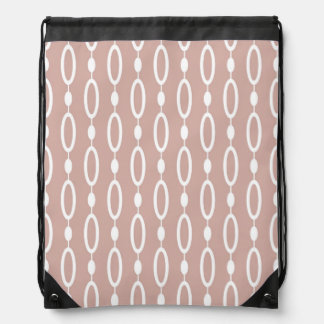 Rings and Beads patterns Drawstring Bags