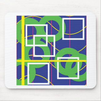 Rings and Boxes Mouse Pad