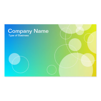 Rings and Circles 02 Pack Of Standard Business Cards