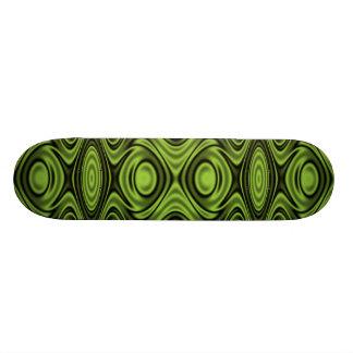 Rings and Ripples Lime Green Skate Decks