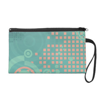 Rings and Squares Wristlet Purses