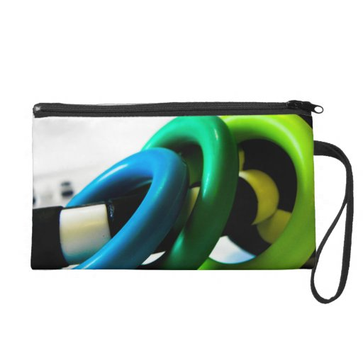 Rings Wristlet Clutches