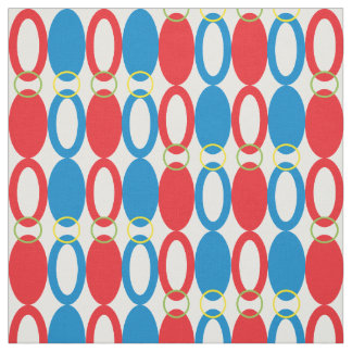 Rings | Blue and Red Fabric